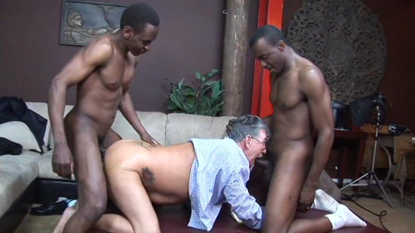 Big Black Dad White Son
