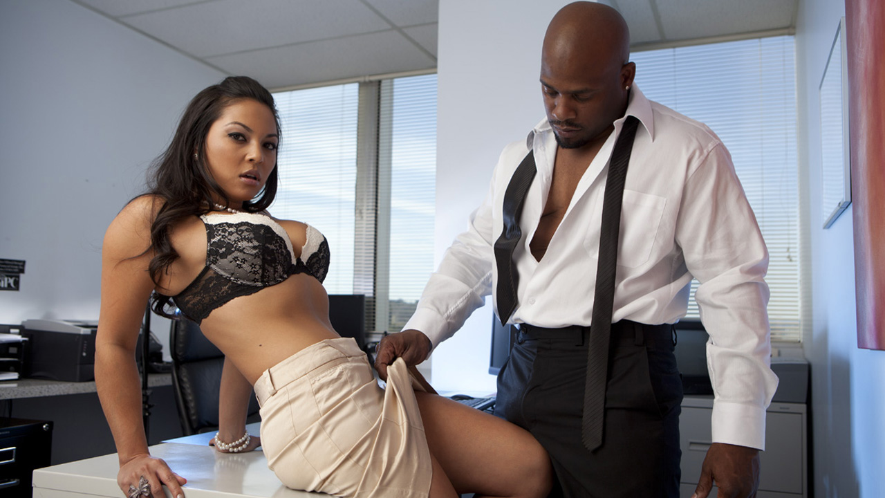 Office Affairs: His Secretary