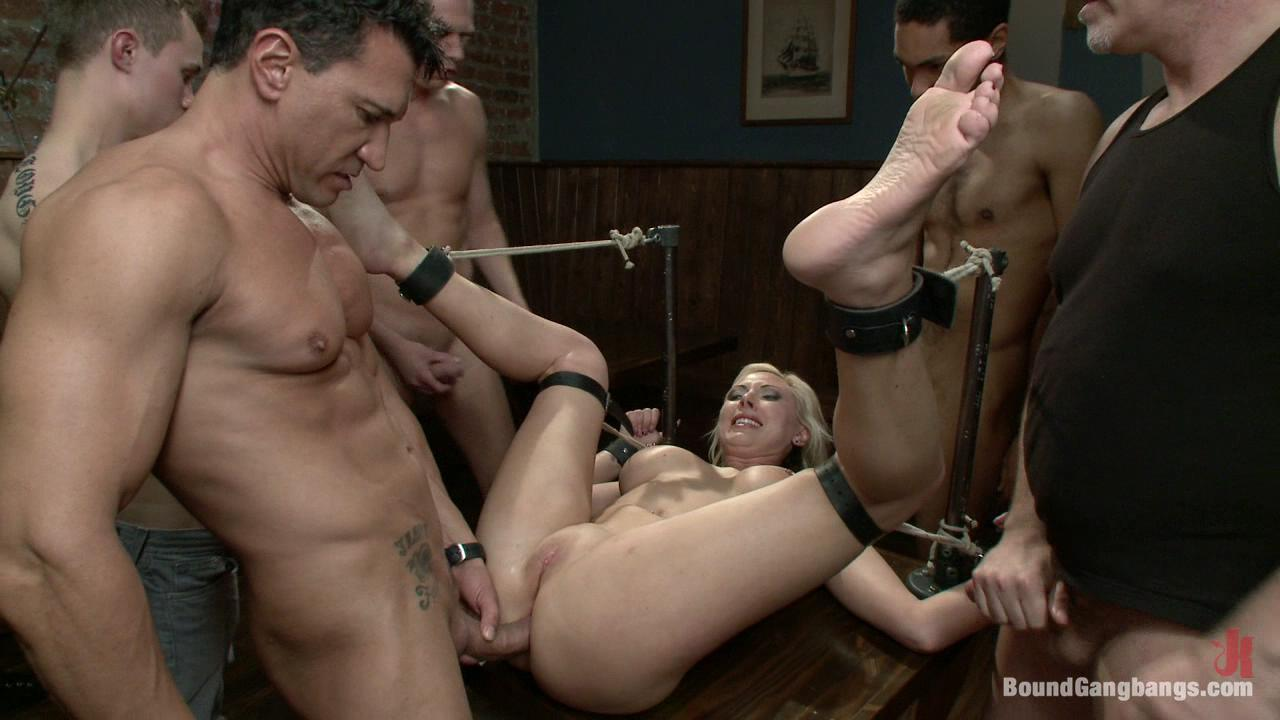Bound Gangbangs: Skylar Price xvideos160616