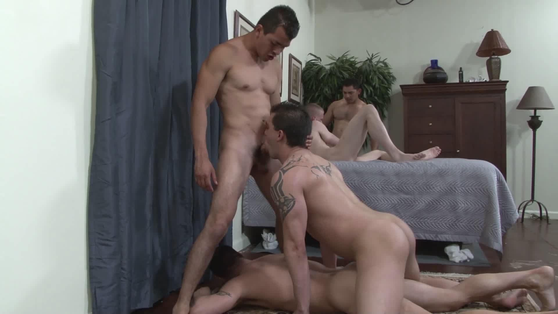 Another Bareback Orgy Xvideo gay