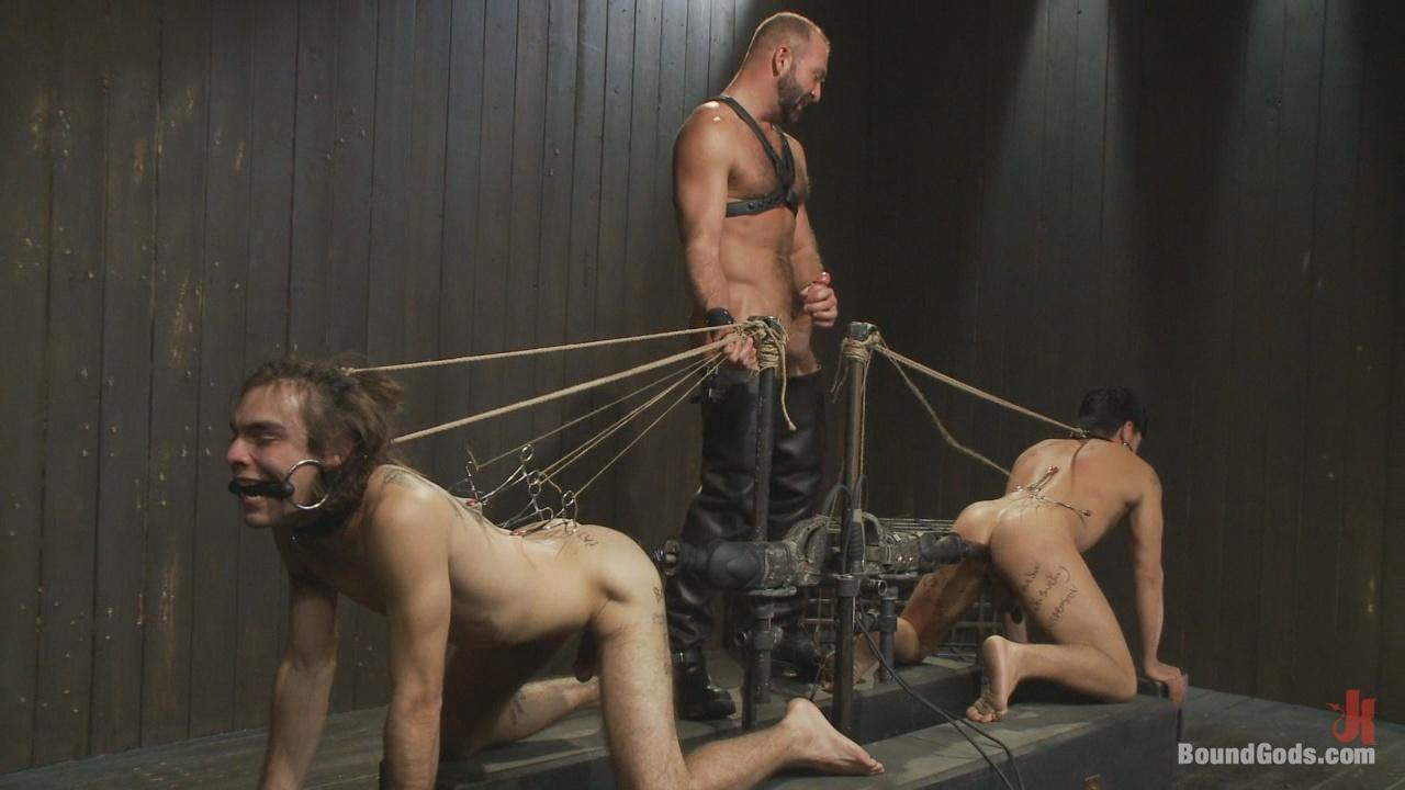 Bound Gods: Josh West: Live Shoot Xvideo gay