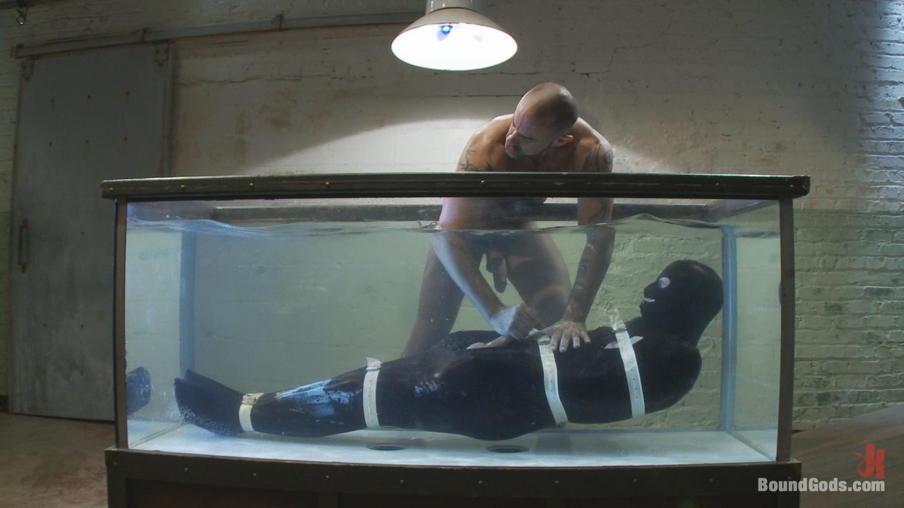 Bound Gods: Bound In The Sleepsack, Submerged Under Water And Made To Cum Xvideo gay