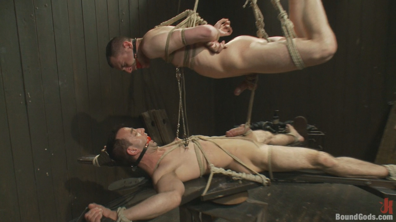 Bound Gods:  Post Orgasm Torment Xvideo gay