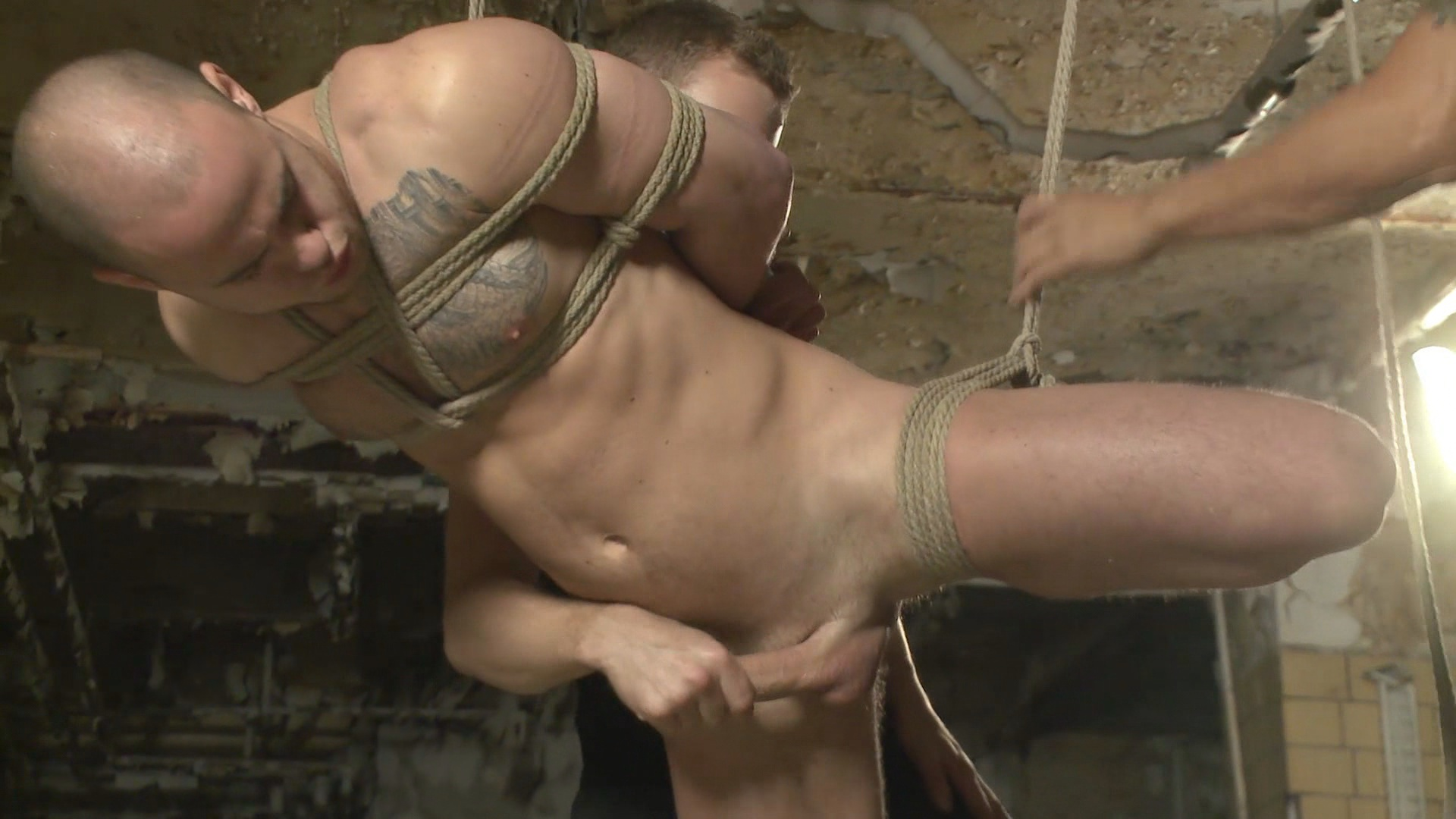 Men On Edge: Straight German Stud Gets Edged While His Girlfriend Watches Xvideo gay