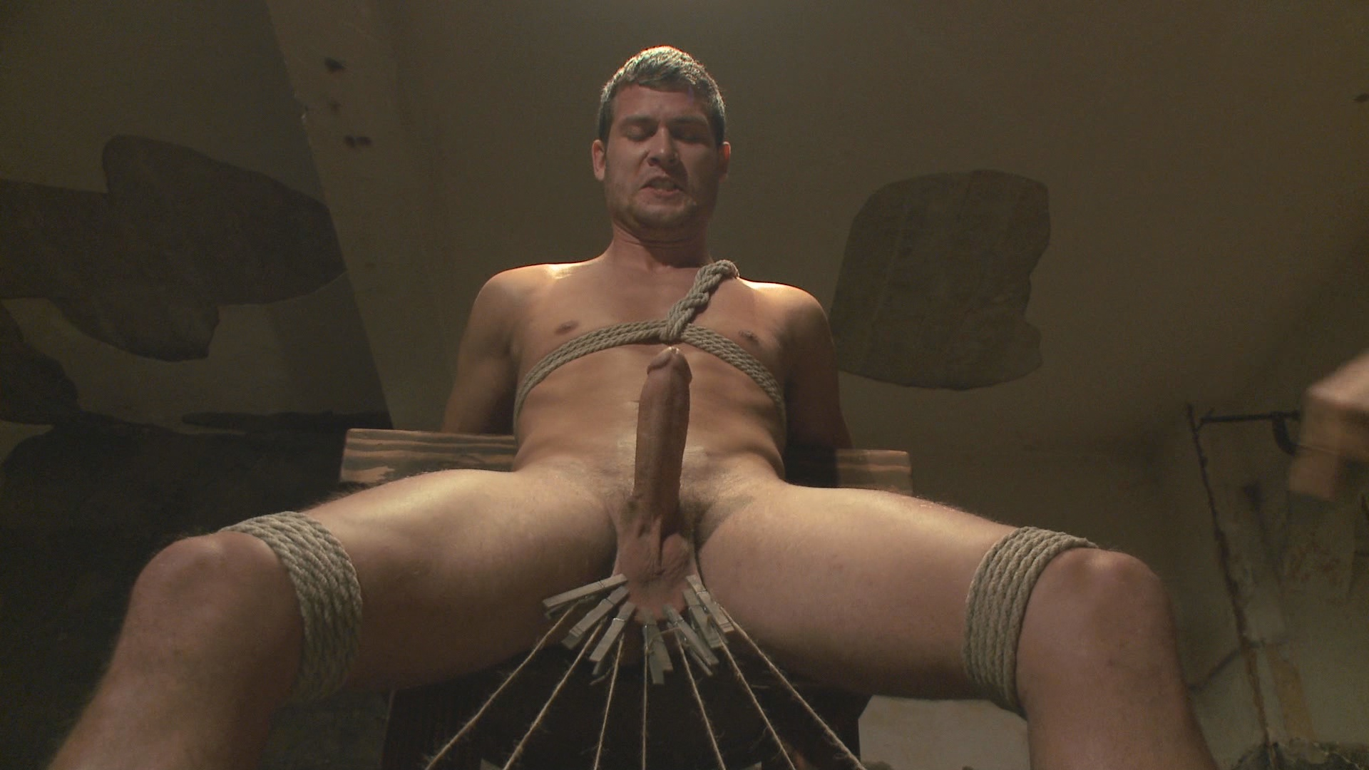30 Minutes Of Torment: Hayden Richards Vs The Chair And The Chair Won Xvideo gay