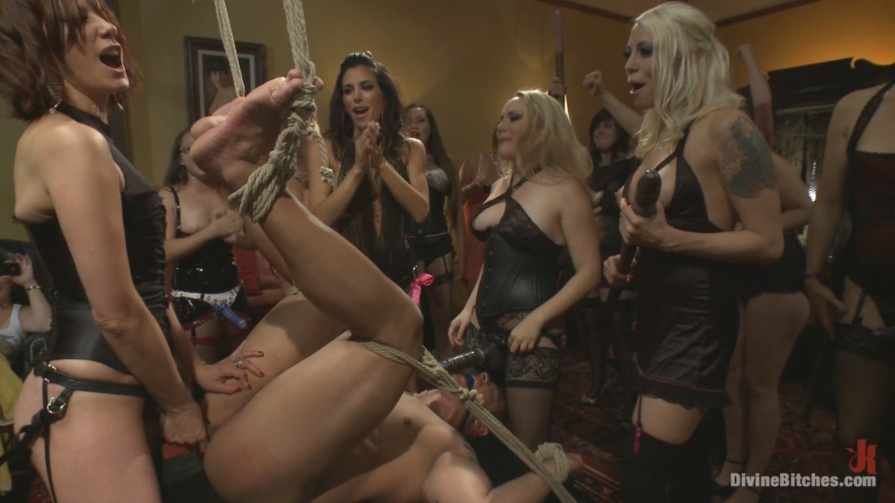 Divine Bitches: The Most Intense Public FemDom Pajama Party Ever